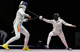 Tokyo 2020 : TeamSG Fencer Kiria Tikanah's Olympic debut ends, after heroic battle against current World No 1!