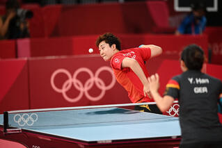 Tokyo 2020 :Team SG paddler Feng Tianwei loses battle against familiar foe, to bow out in Round of 16!