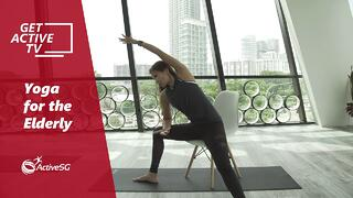 #YOGA101: 3 Yoga poses for senior to improve balance | GET ACTIVE TV Thumbnail