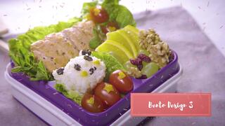 [Series of Courses] How-To Make Healthy Bentos Thumbnail