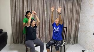 Dynamic Stretches At Home with Coach Vikki Thumbnail