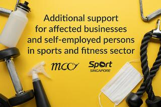 Additional support for businesses and SEPs, affected by stricter SMM for gyms and studios