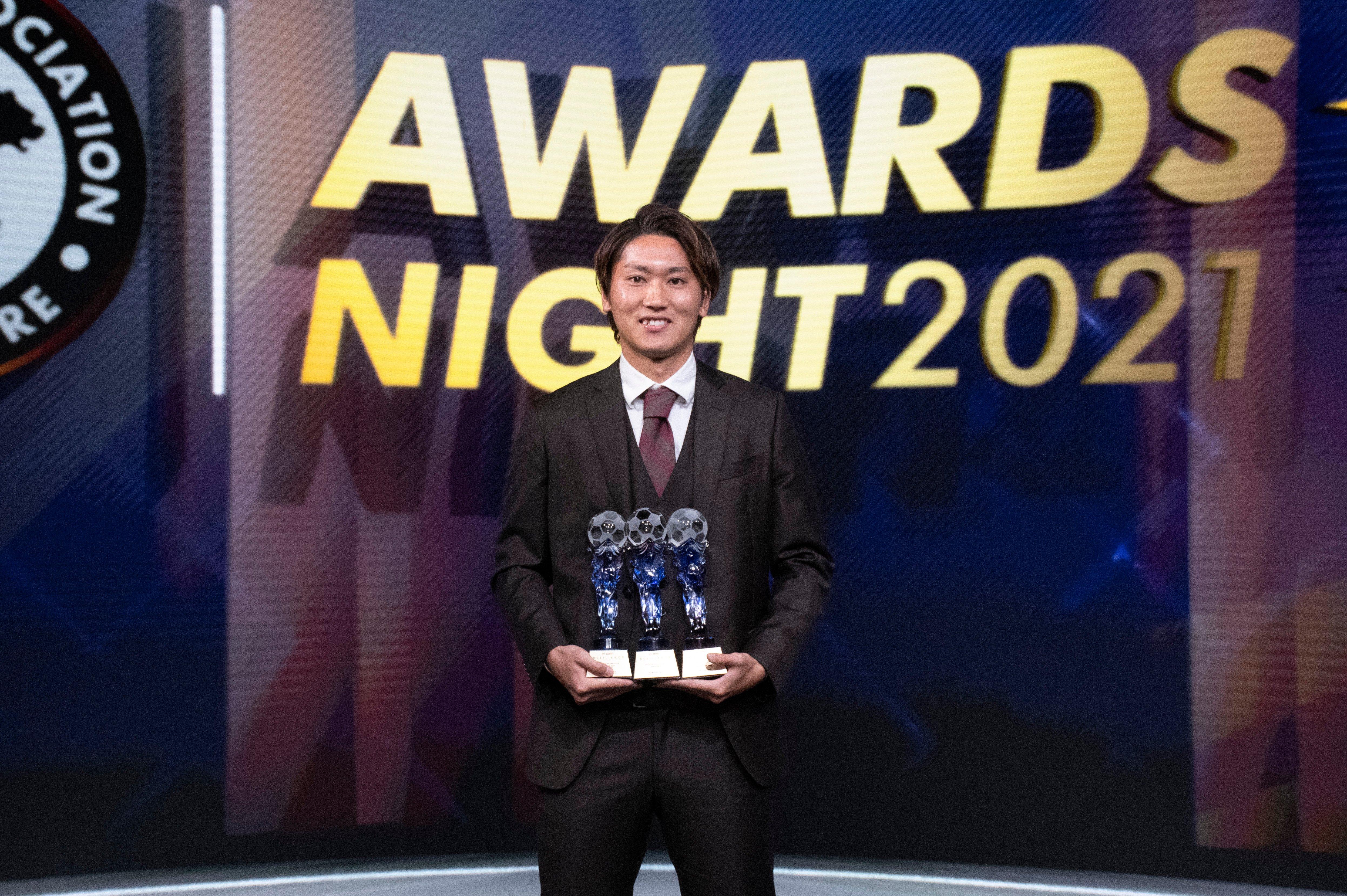 2021 AIA Player of the Year Tomoyuki Doi