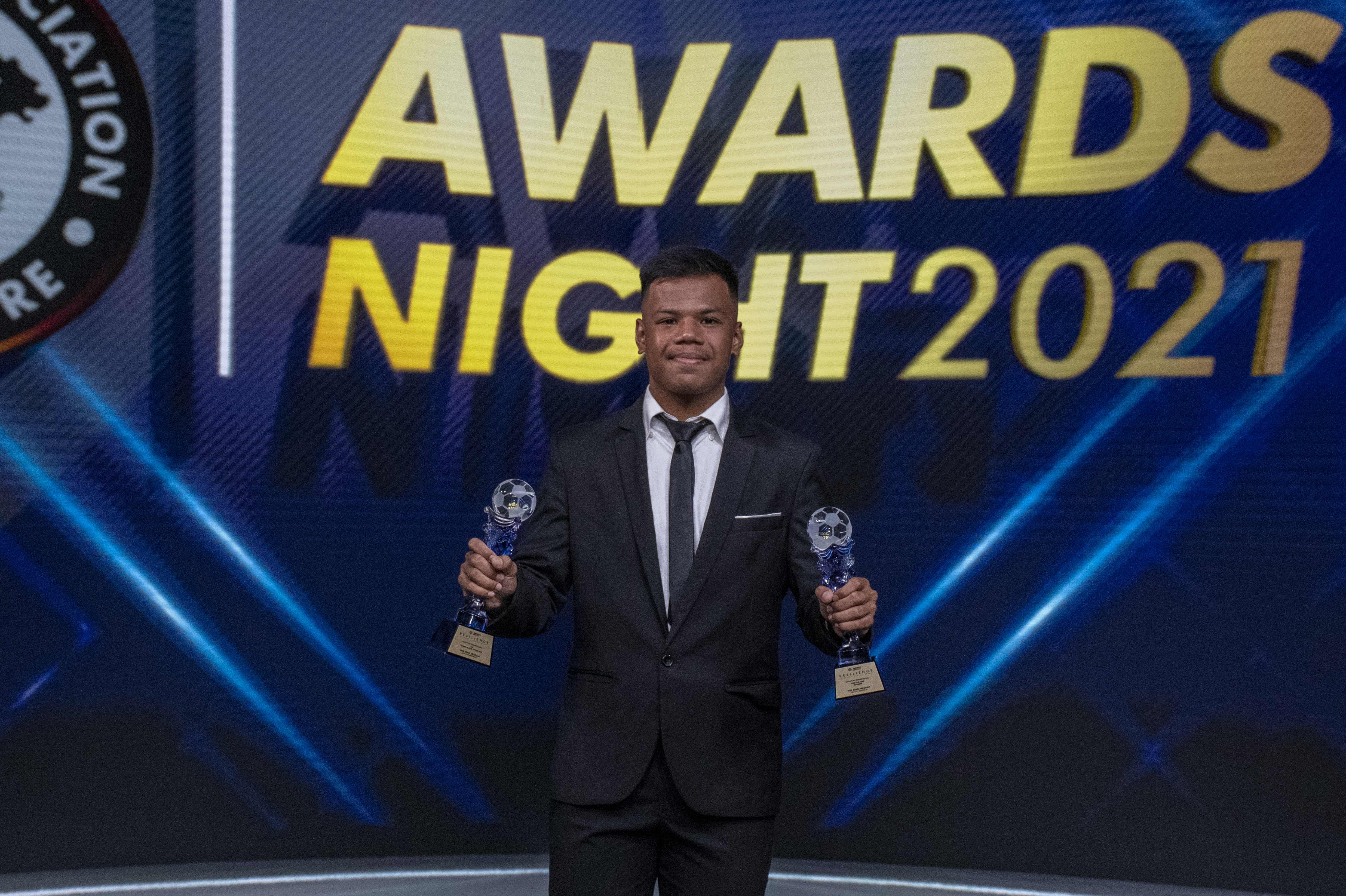2021 AIA Young Player of the Year Nur Adam Abdullah