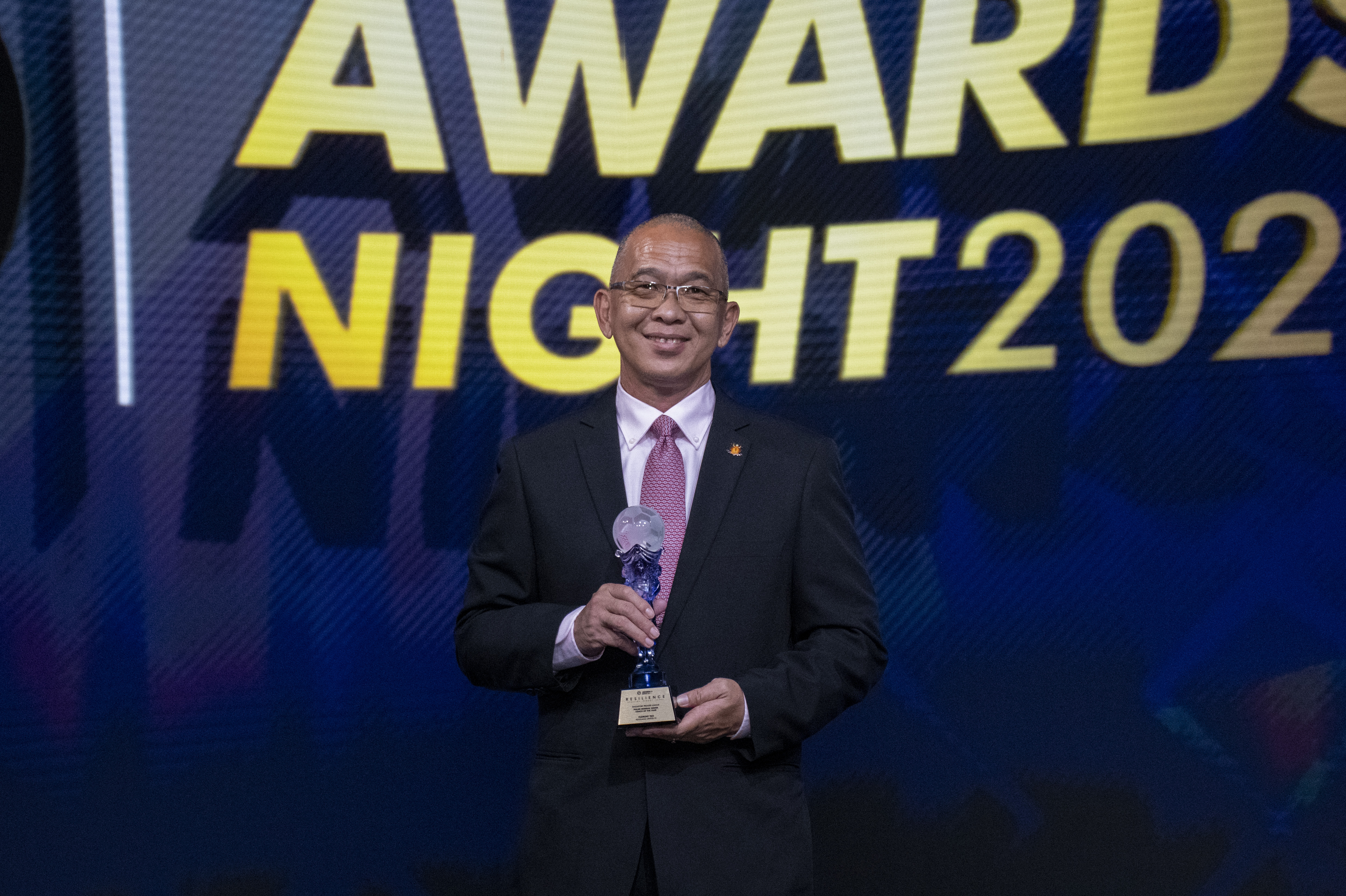 2021 Polar Mineral Water Coach of the Year Clement Teo