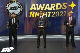 Hougang United FC were the big winners at FAS Awards Night 2021!