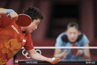 Tokyo 2020 : TeamSG Padder Feng Tianwei is just 1 step away from reaching Women's Singles QF stage!