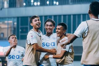 SPL: Lion City Sailors thrash Tampines Rovers 6-1, to keep the title race alive!