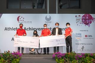 TeamSG's Yip Pin Xiu receives $800,000 for her Double-Gold medals at Tokyo 2020, following DBS Bank's new co-sponsorship!