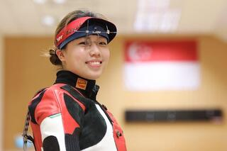 TeamSG Shooter Adele Tan : Be Happy in your Sports journey and don't chase things blindly!