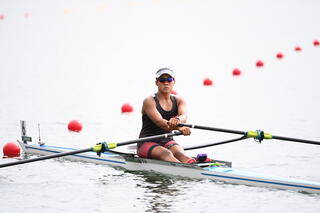 Tokyo 2020 : Fulltime Staff Nurse & TeamSG Sculler Joan Poh, finishes her maiden Olympic campaign with her best race performance!