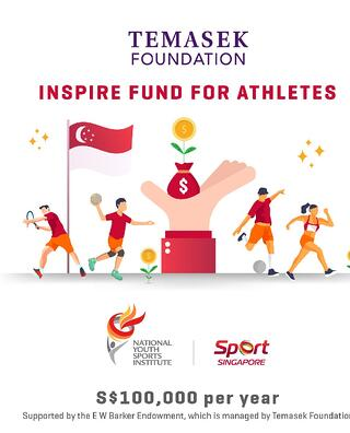 Temasek Foundation Inspire Fund to support promising athletes