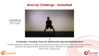 CoachSG - Basketball - pounding, crossover Thumbnail