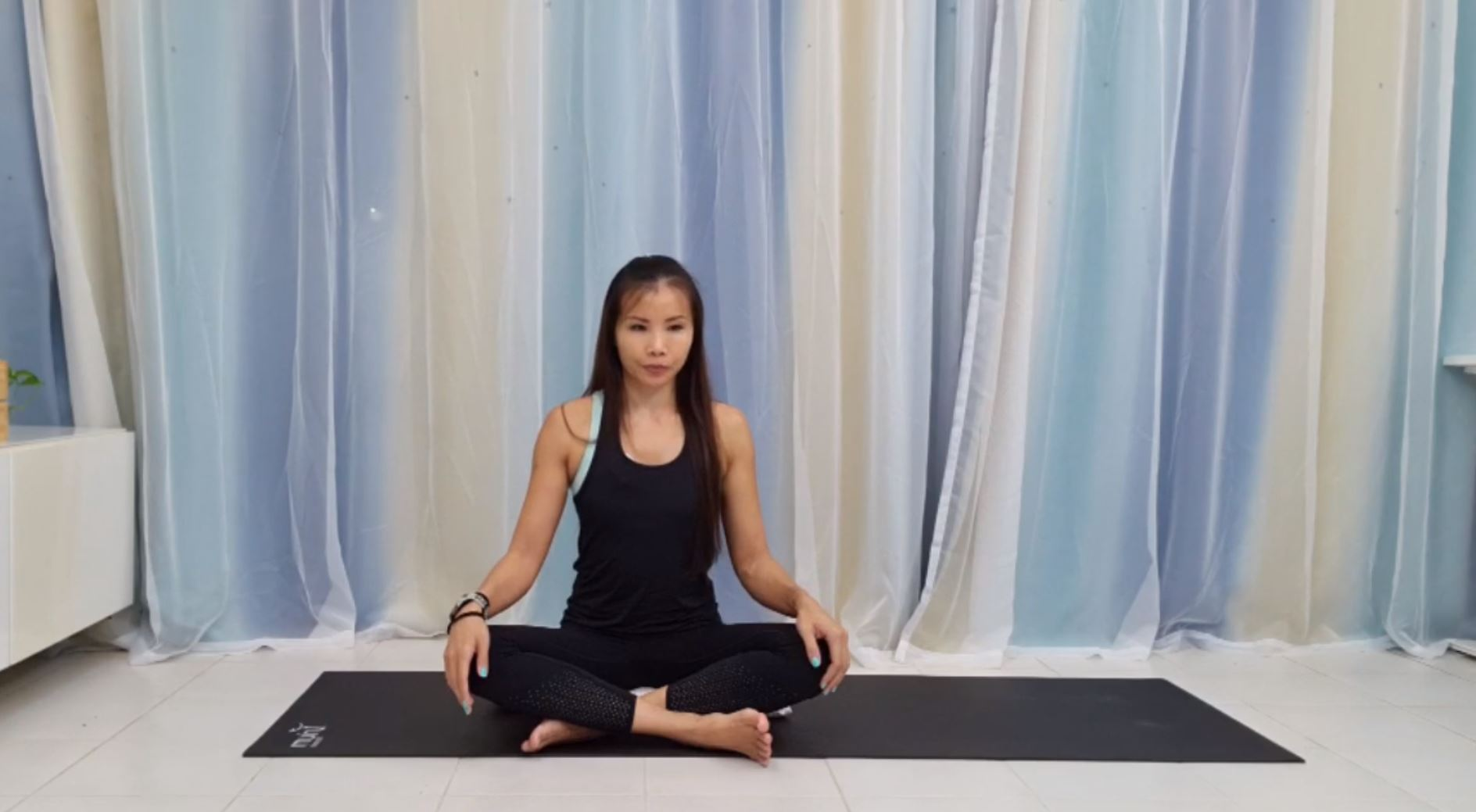 Fit Together @ Home Episode 18 - Yoga Breathing for Stress Relief Thumbnail