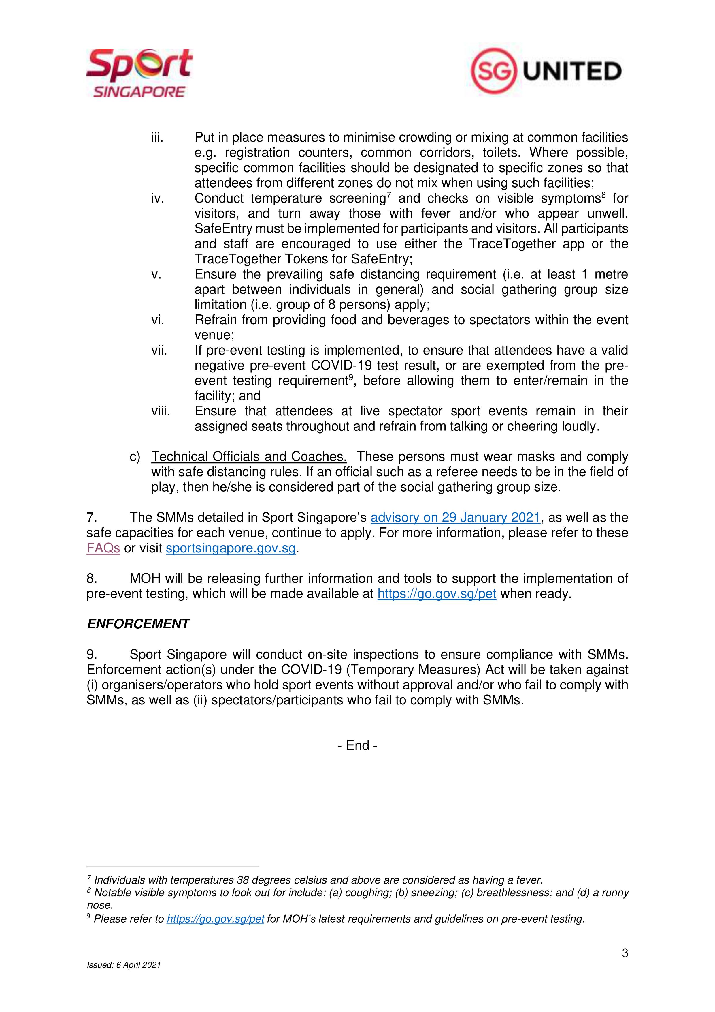 Addendum to Advisory_Info on Sport Event Pilots copy-3