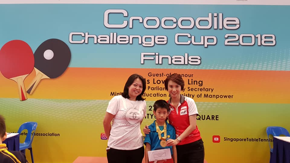 Croc Cup 2018 with VP and GOH