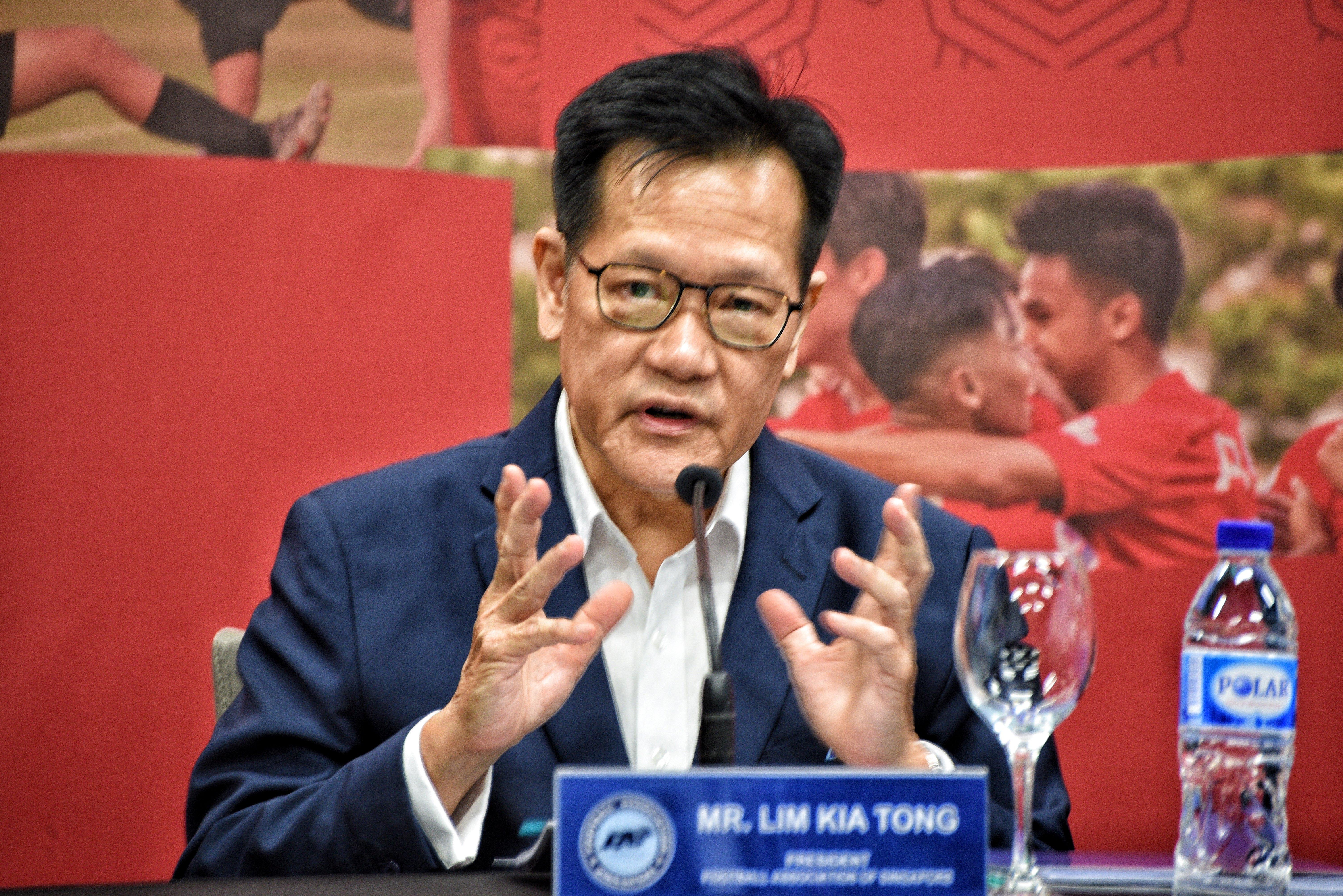 Mr Lim Kia Tong - President, FAS