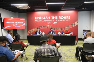 UNLEASH THE ROAR! An aspiration to unify Singaporeans through football