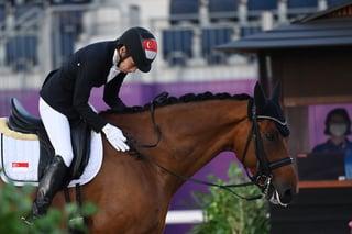 Tokyo 2020 : TeamSG Para-Equestrienne Laurentia Tan reaches grand final, while team-mate Gemma Foo misses out!