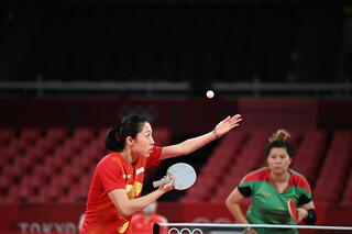 Tokyo 2020 : TeamSG Paddler Yu Mengyu dispatches Portuguese opponent in 30 minutes to reach 3rd round!