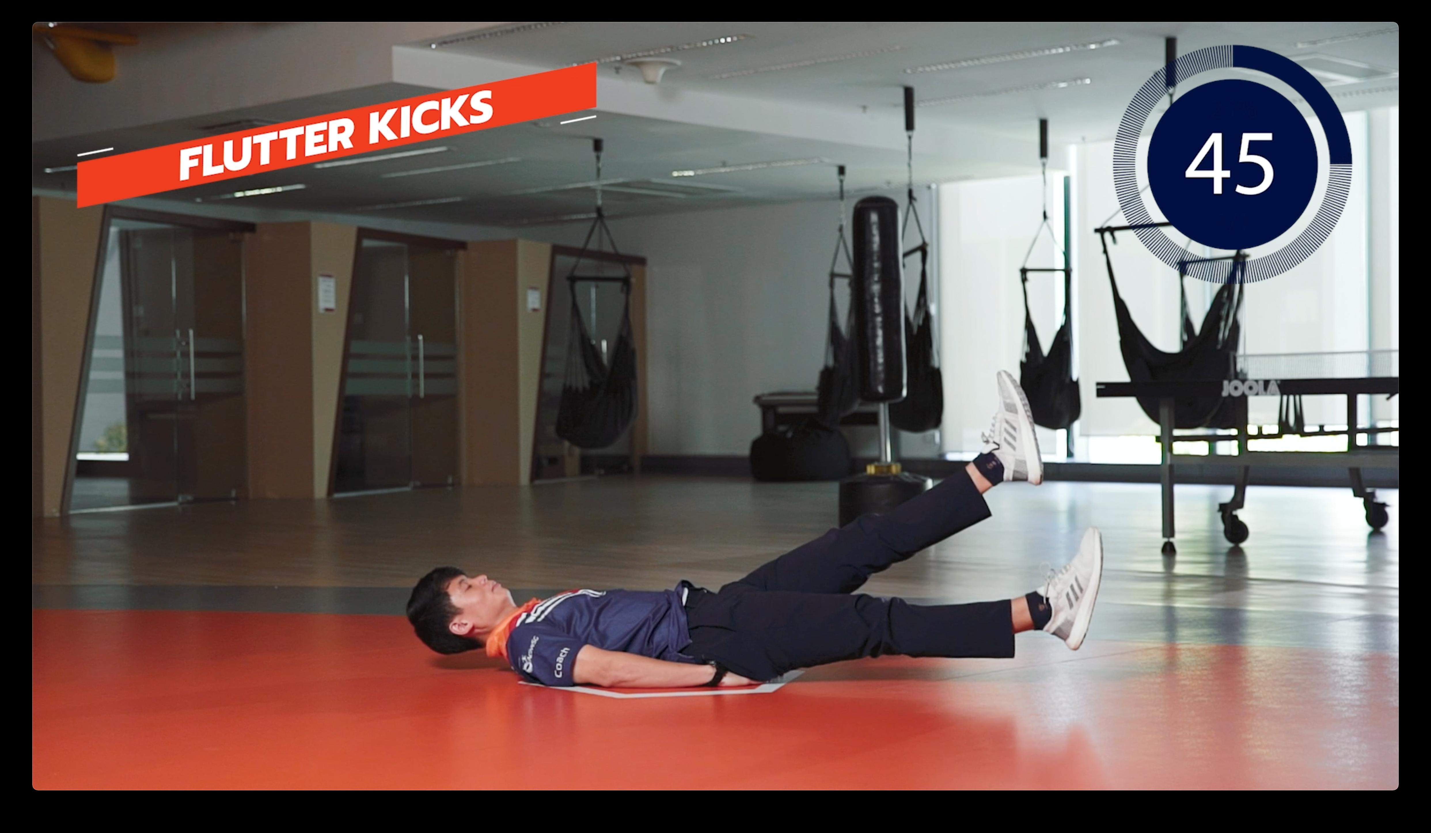 Flutter Kicks