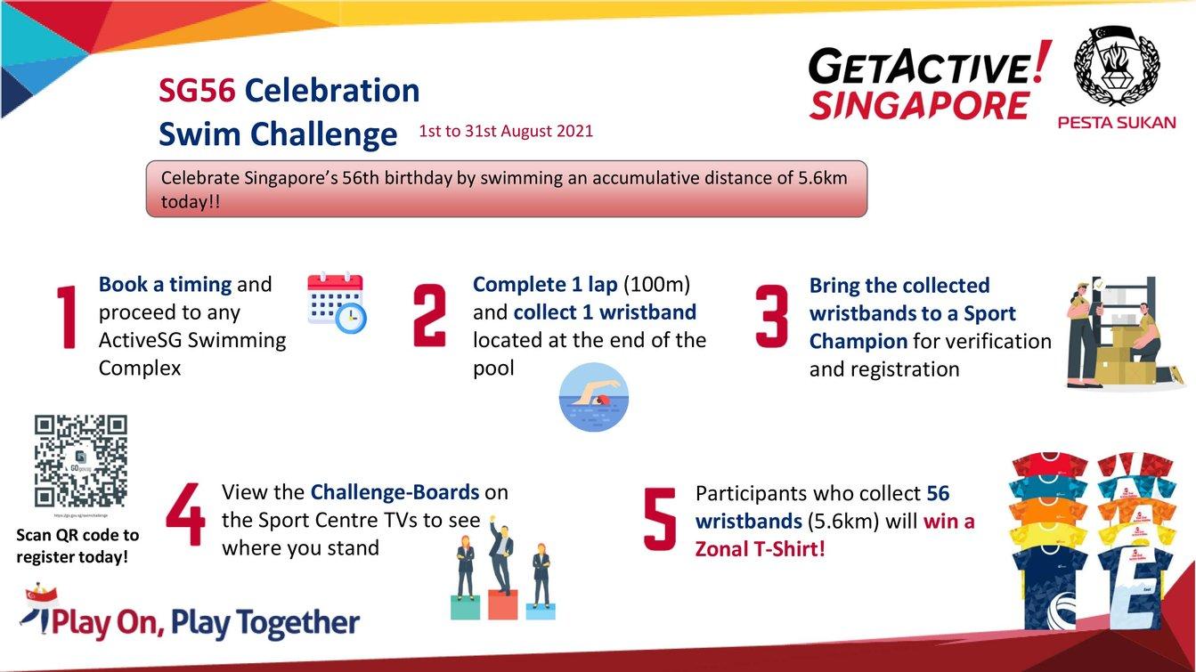 Swim Challenge Final
