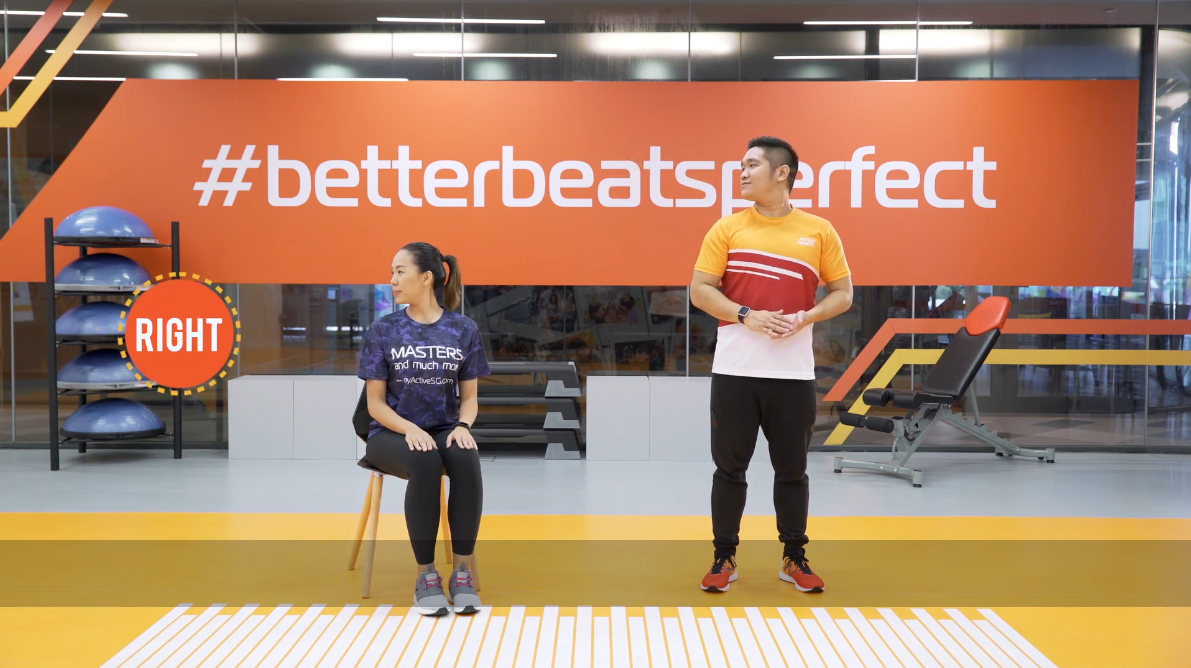 ActiveSG Masters Club Fitness Video Program (Video 1 of 5): Simple Daily Exercises Thumbnail