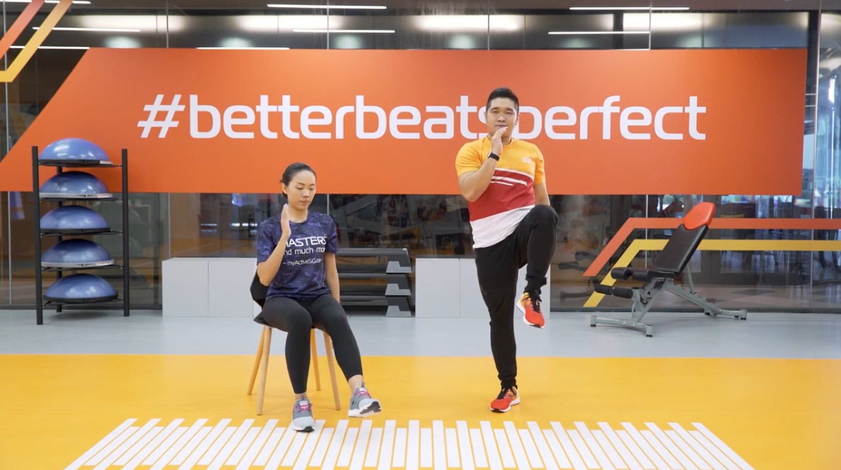ActiveSG Masters Club Fitness Video Program (Video 3 of 5): Simple Daily Exercises Thumbnail