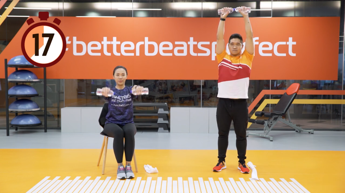 ActiveSG Masters Club Fitness Video Program (Video 4 of 5): Simple Daily Exercises Thumbnail
