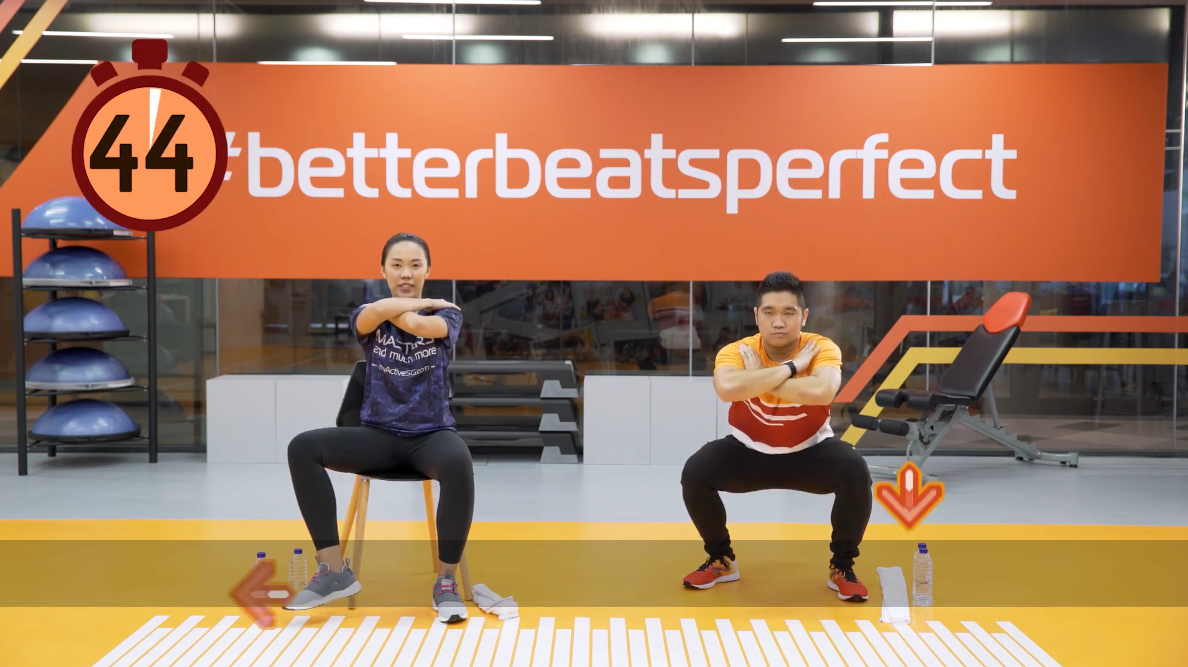ActiveSG Masters Club Fitness Video Program (Video 5 of 5): Simple Daily Exercises Thumbnail