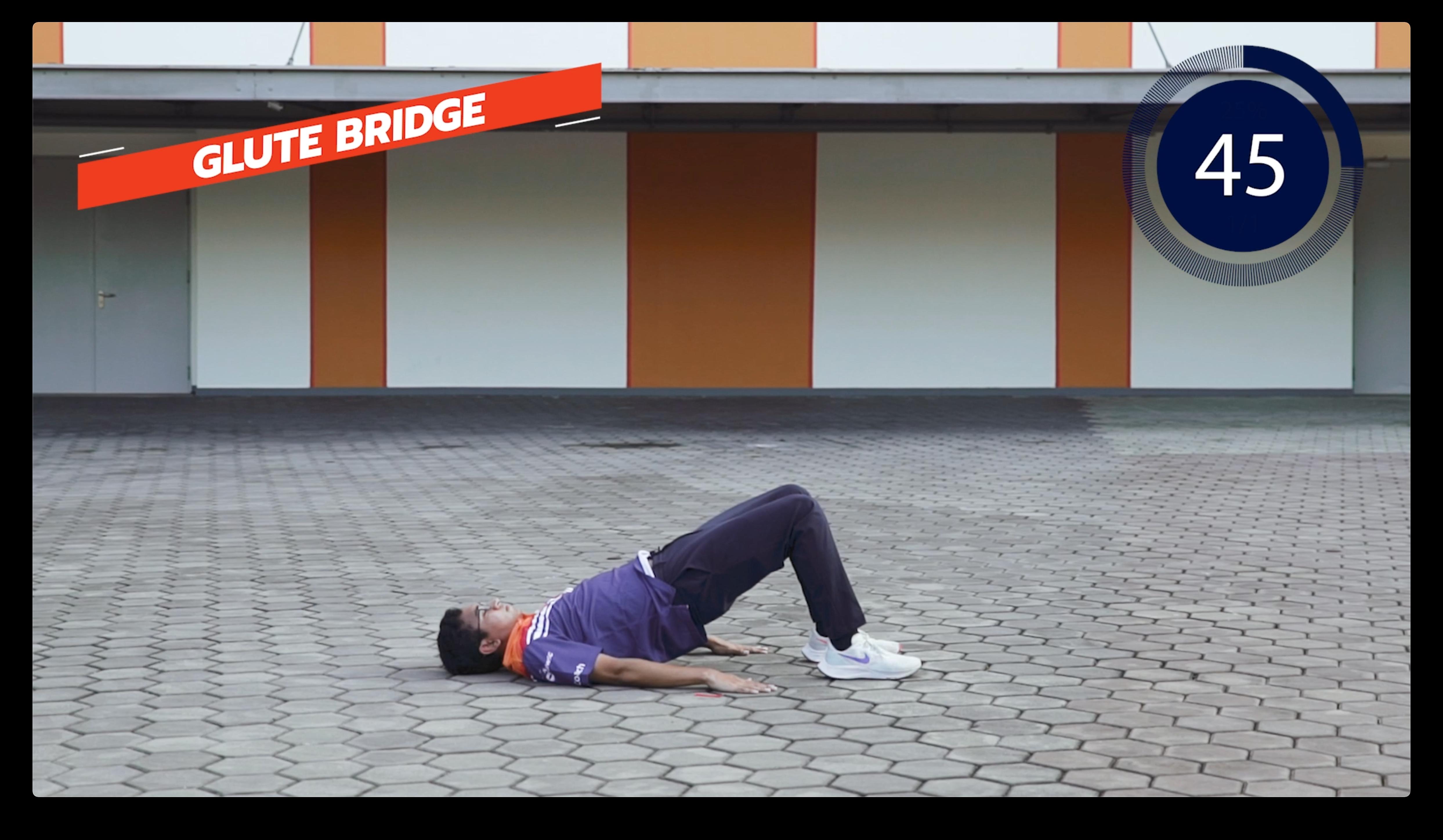 Glute Bridge