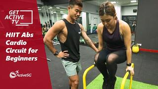 HIIT Abs Cardio Circuit for Beginners with Kenneth Seow | Get Active TV Thumbnail