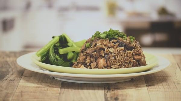 Healthy Recipes by OSIM & SSI- Cheats Claypot Rice