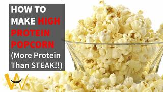 How To Make High Protein Popcorn Thumbnail