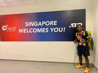 Shaheed Alam : Singapore pulled off a truly world-class tennis event in under 4 weeks!