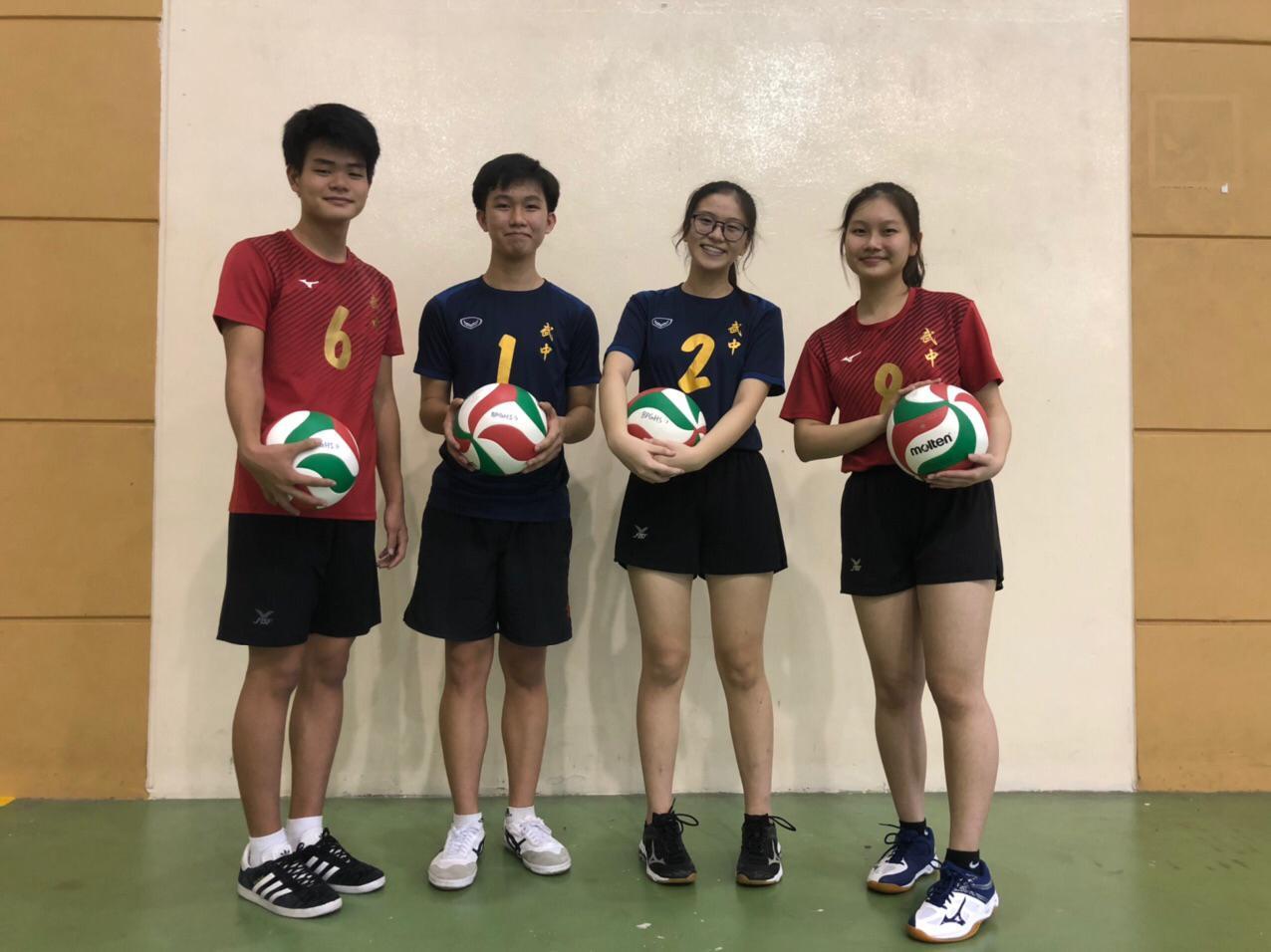 Juay Ee and Teammates