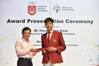 Application for 2020 Singapore Olympic Foundation-Peter Lim Scholarship opens today