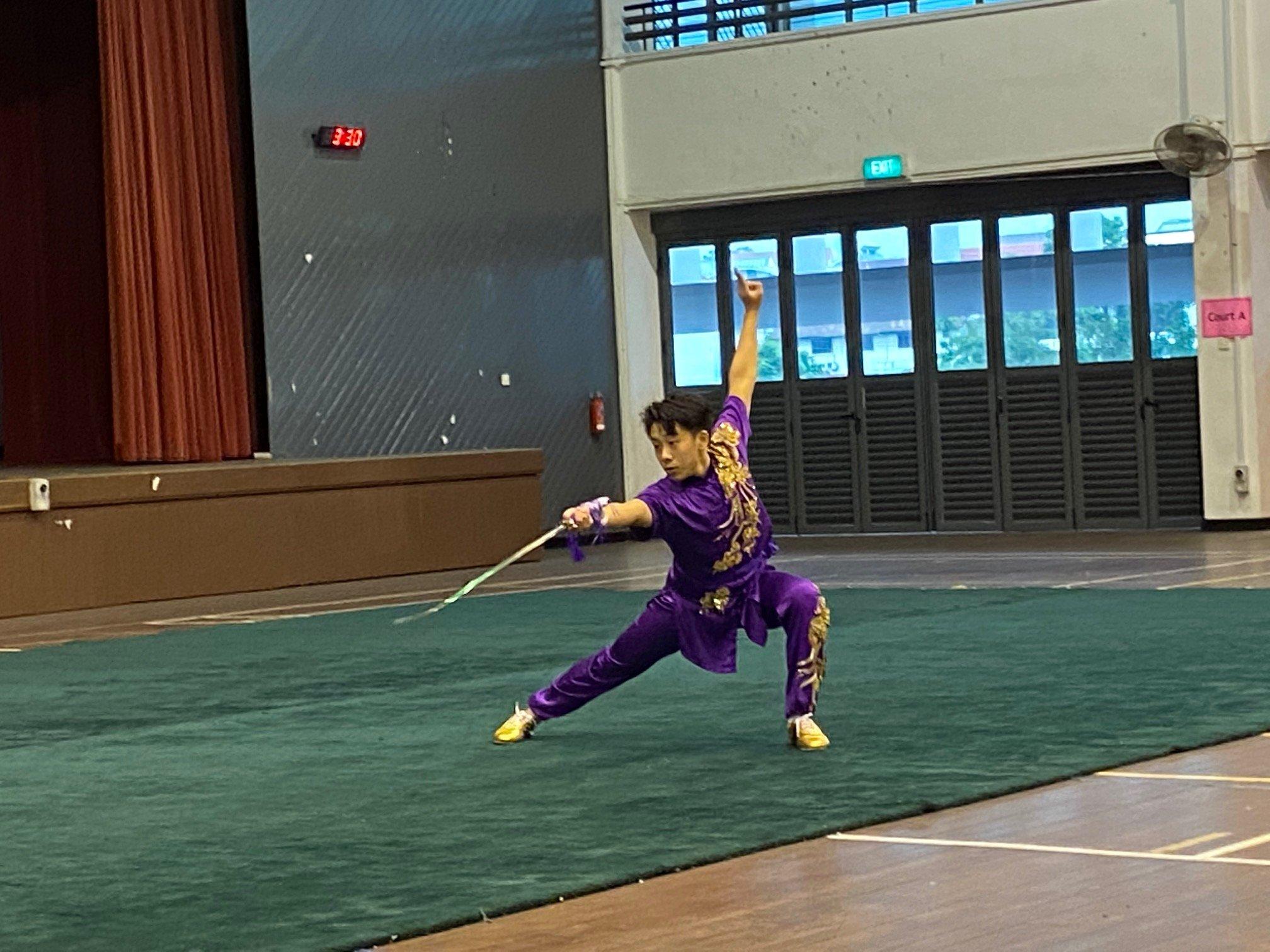 NSG A Div wushu - changquan sword 2
