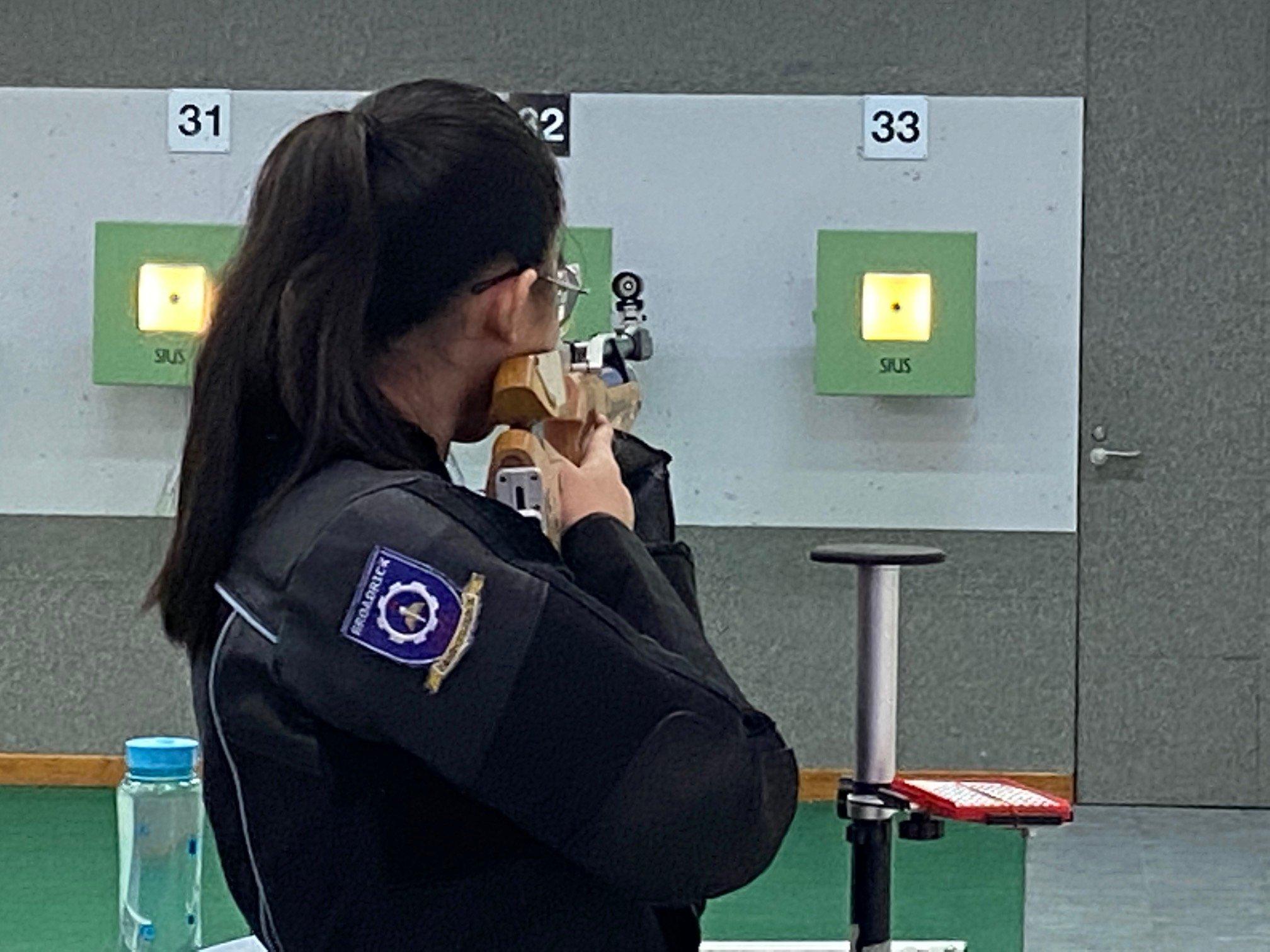 NSG B Div girls shooting championship 2