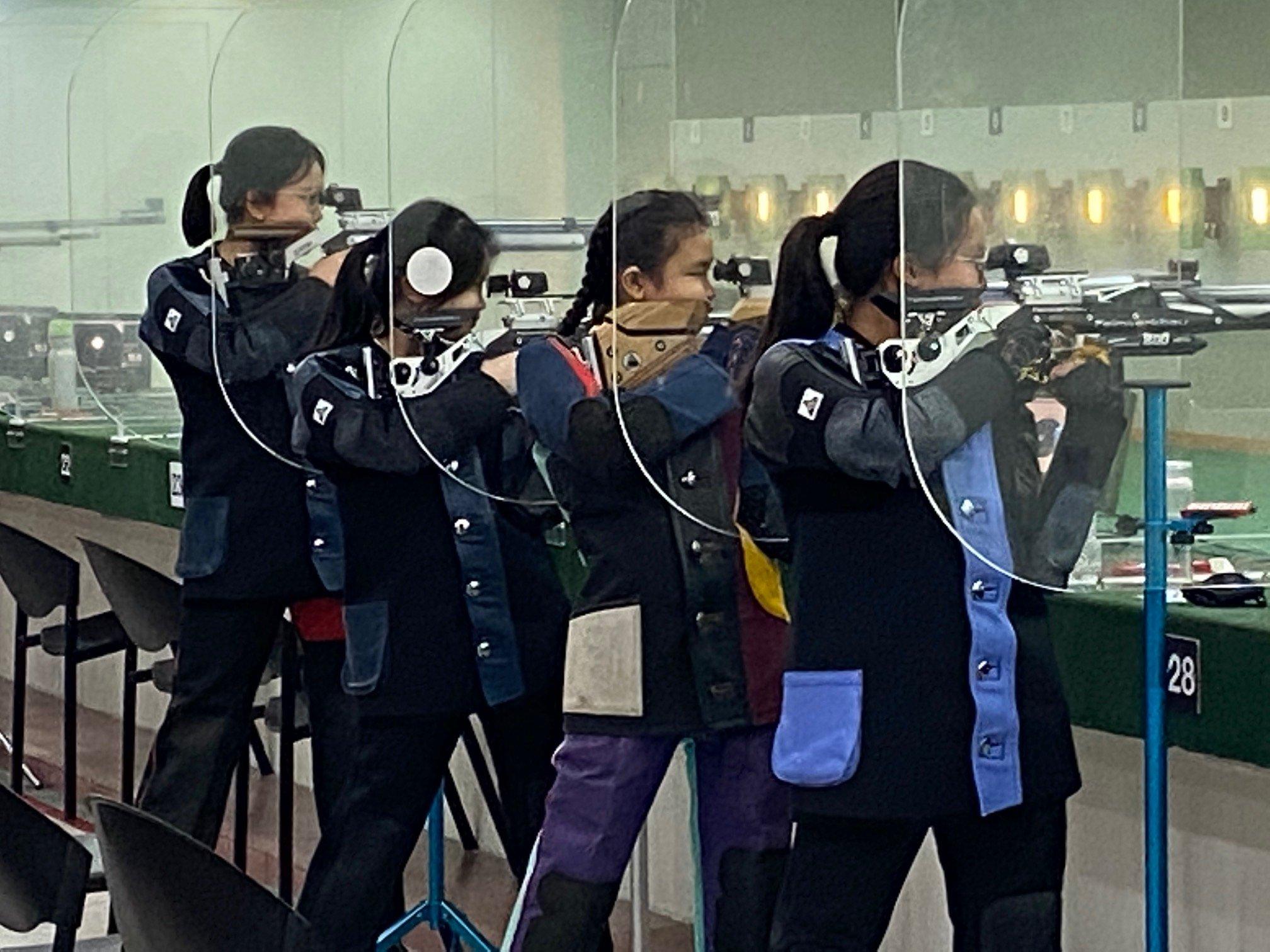 NSG B Div girls shooting championship 4-1