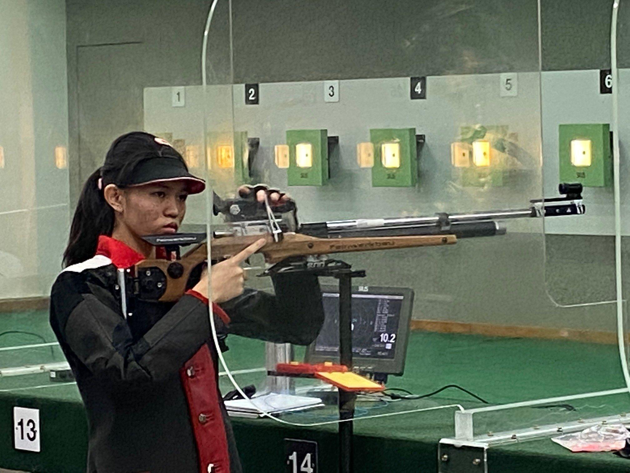 NSG B Div girls shooting championship SSPs Ariana Beh-1