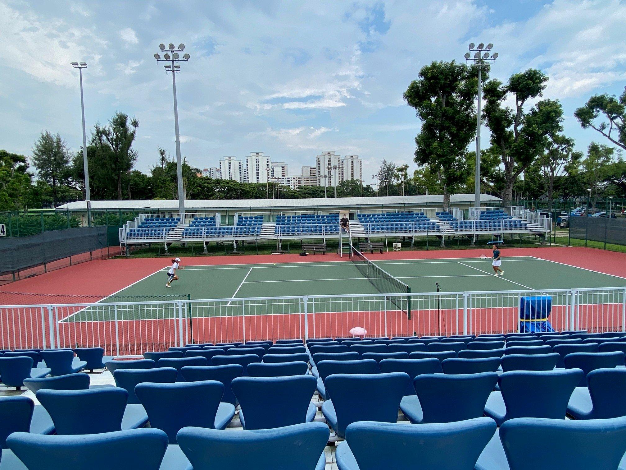 NSG B Div girls tennis final - third singles match