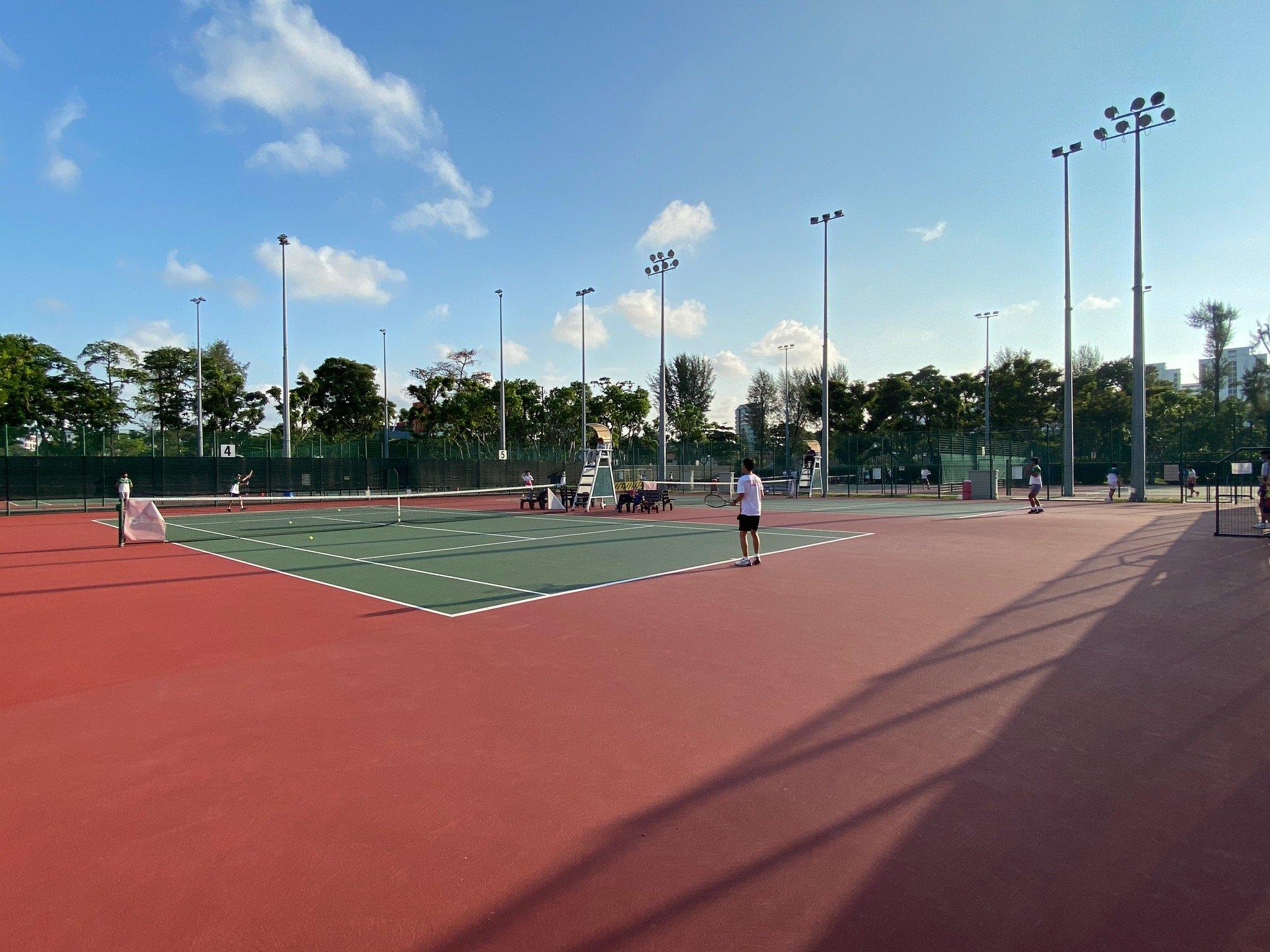 NSG B Division boys' tennis -Victoria vs SJI