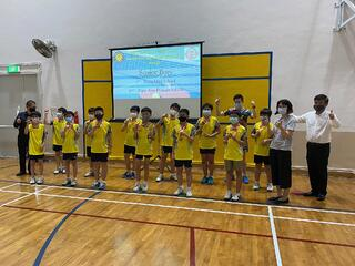 NSG Table Tennis : Kong Hwa School's paddlers display grit to retain championship title!