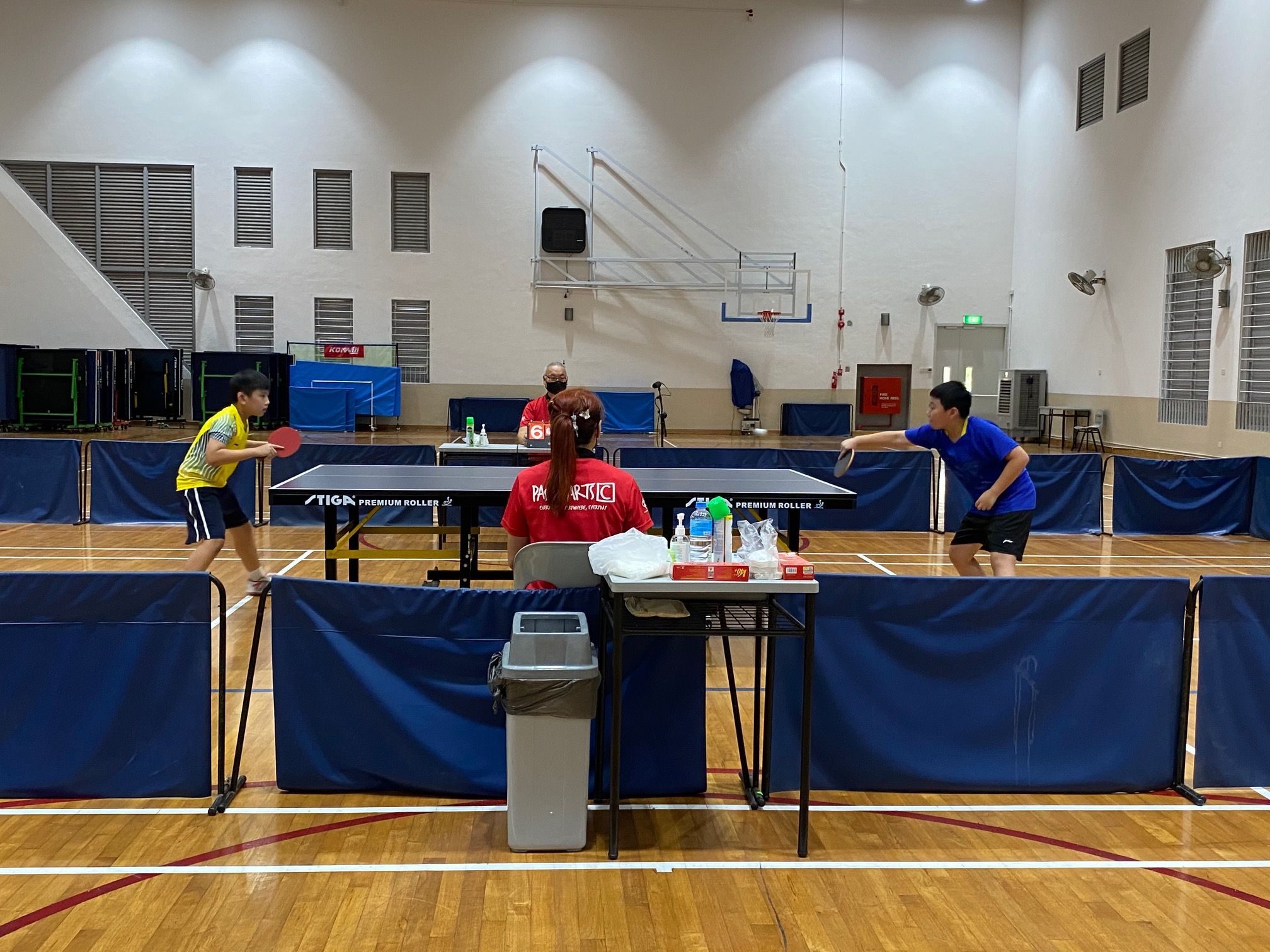 NSG East Zone Snr Div boys table tennis final - first singles 2