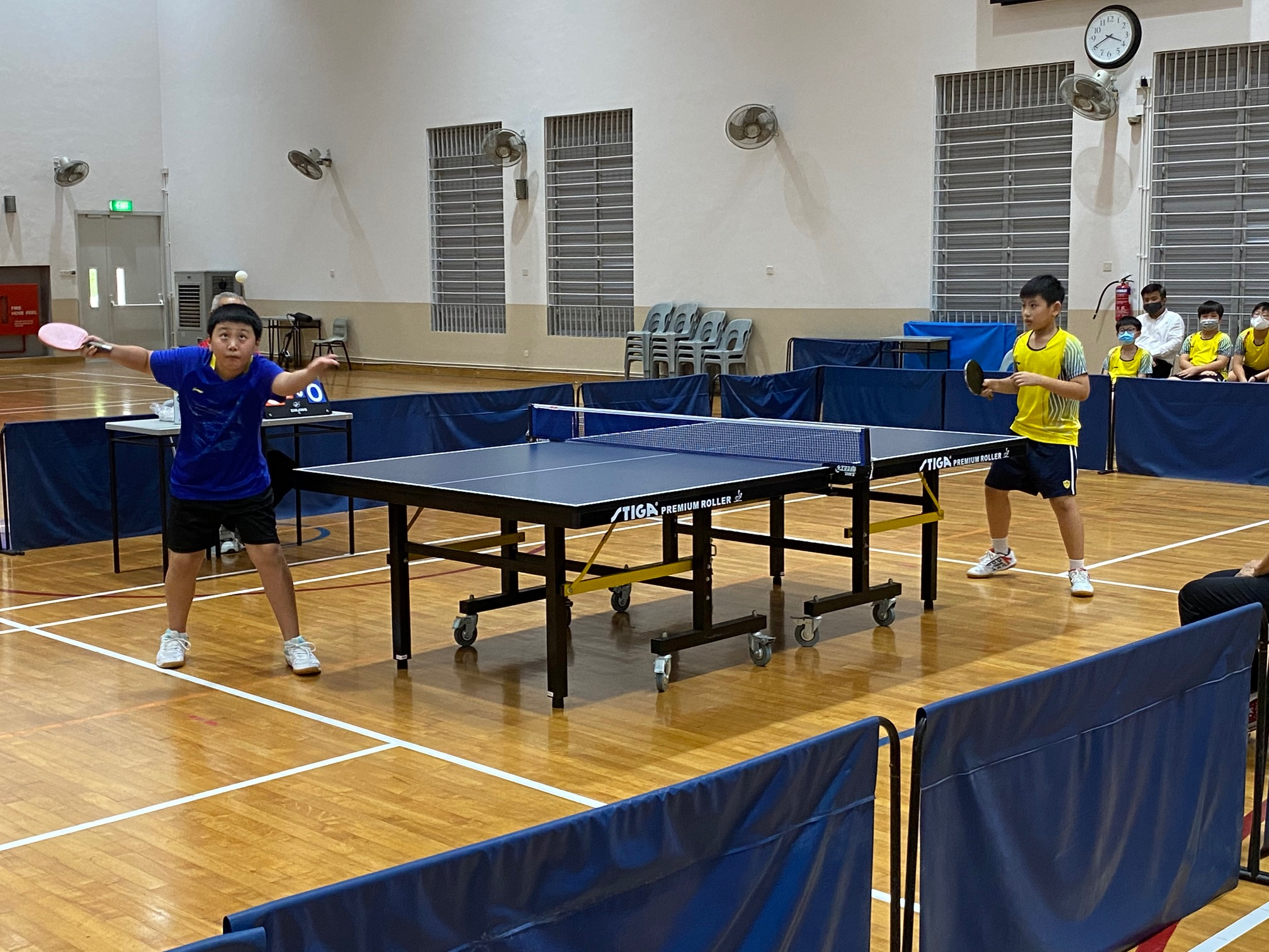 NSG East Zone Snr Div boys table tennis final - first singles