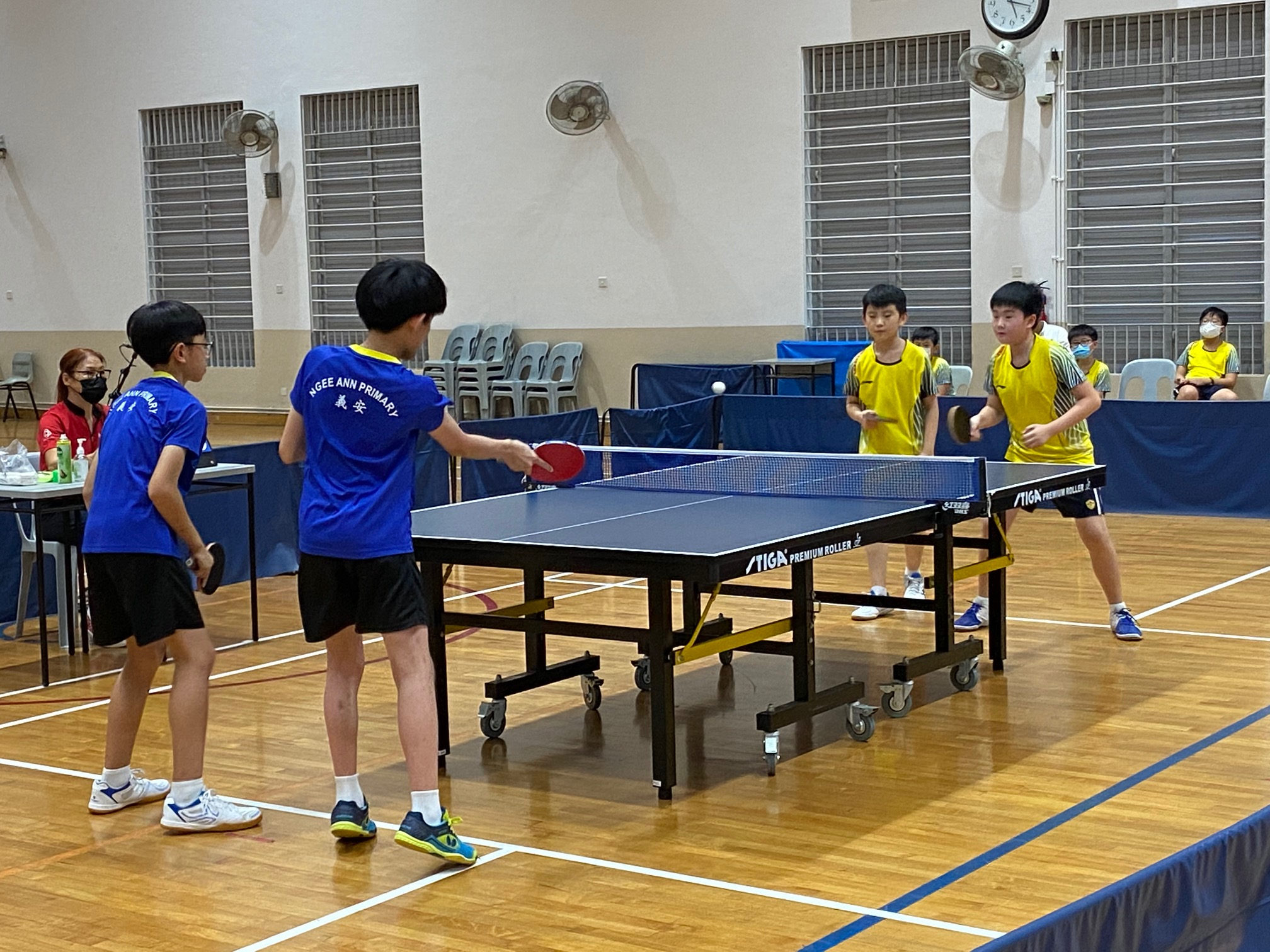 NSG East Zone Snr Div boys table tennis final - second doubles