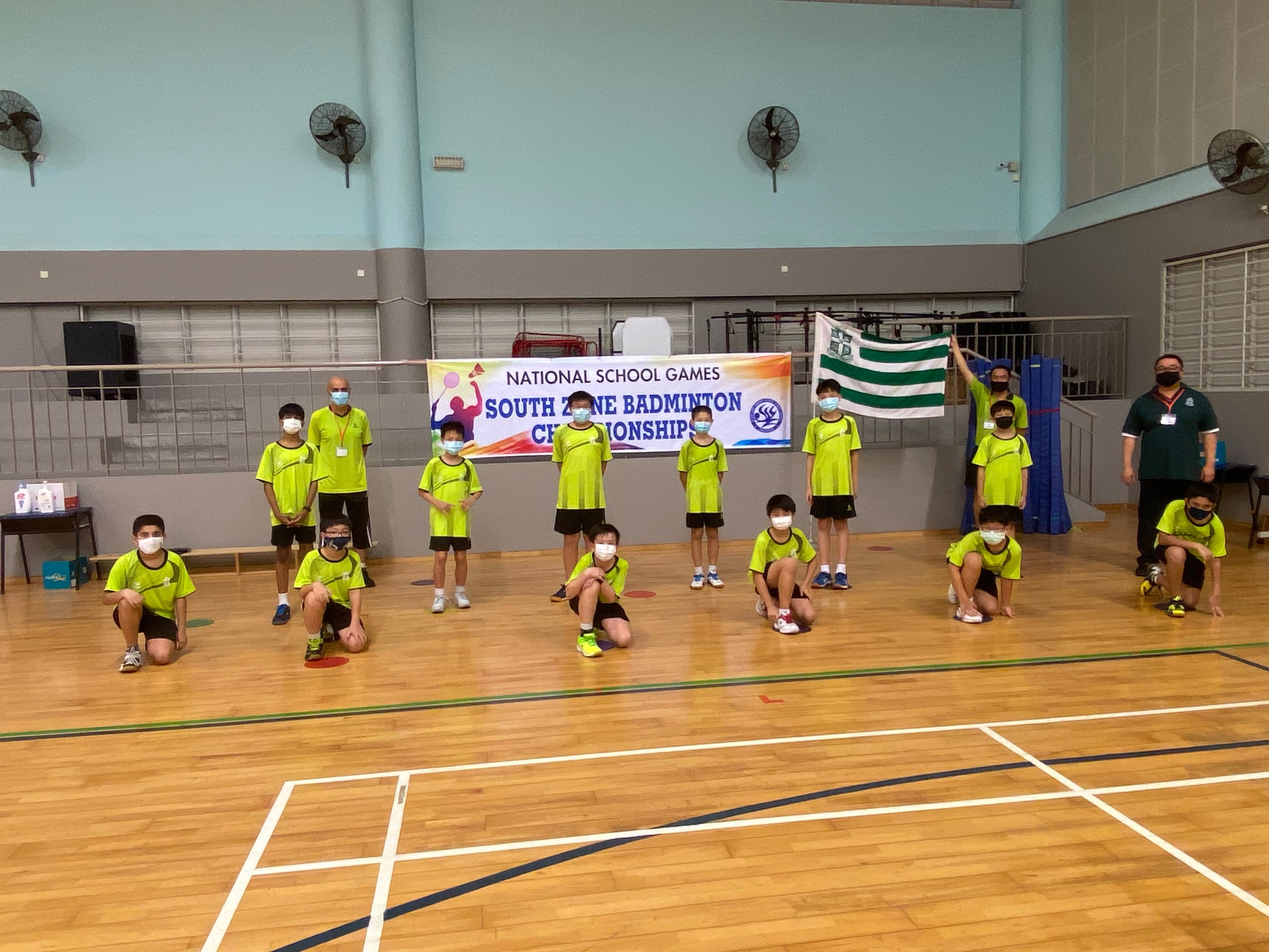 NSG Snr Div South Zone boys' badminton_ SJI Junior 2-1
