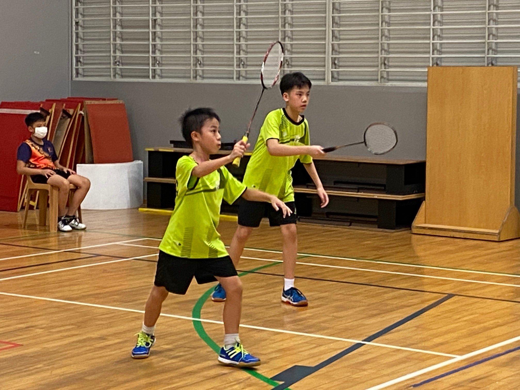 NSG Snr Div South Zone boys' badminton_ SJI Junior first doubles