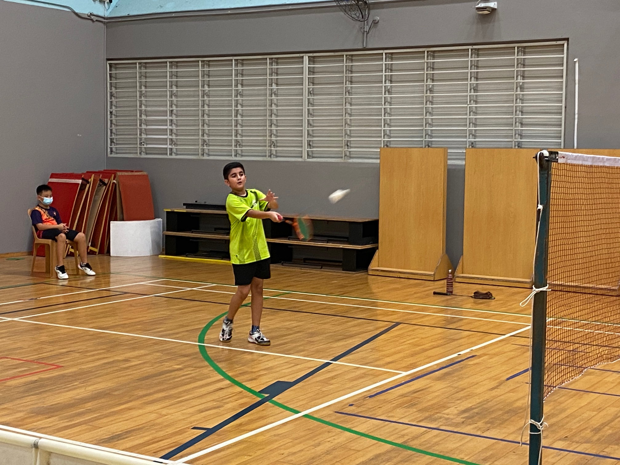 NSG Snr Div South Zone boys' badminton_ SJI Junior first singles player